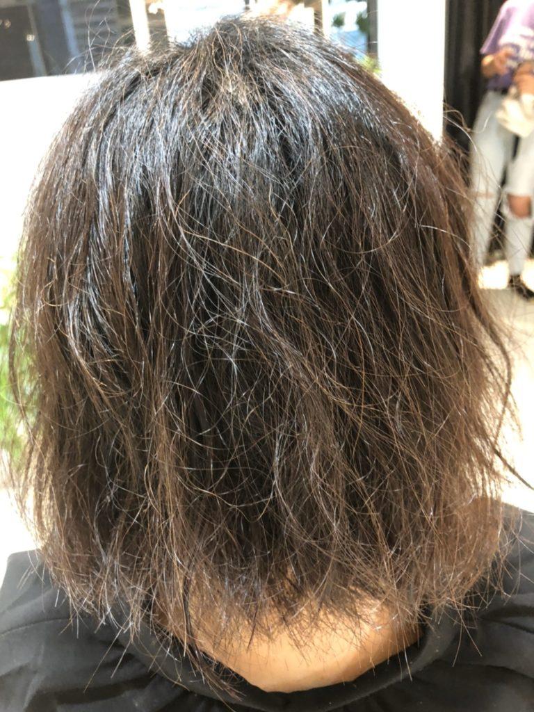 ツヤツヤの縮毛矯正! エイジング毛にもおススメ♪ 3/5