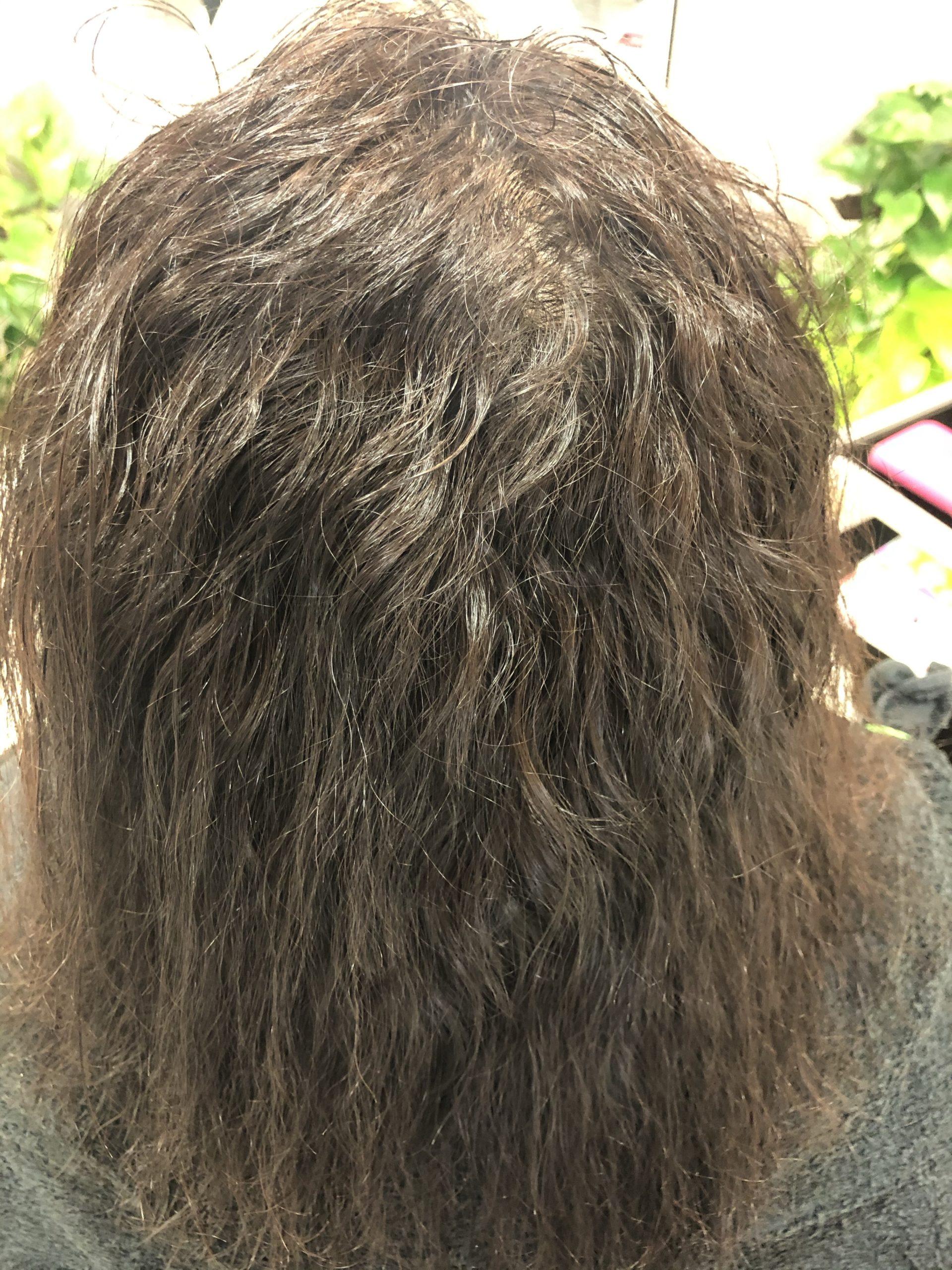 あきらめていたクセ毛+ビビリ毛