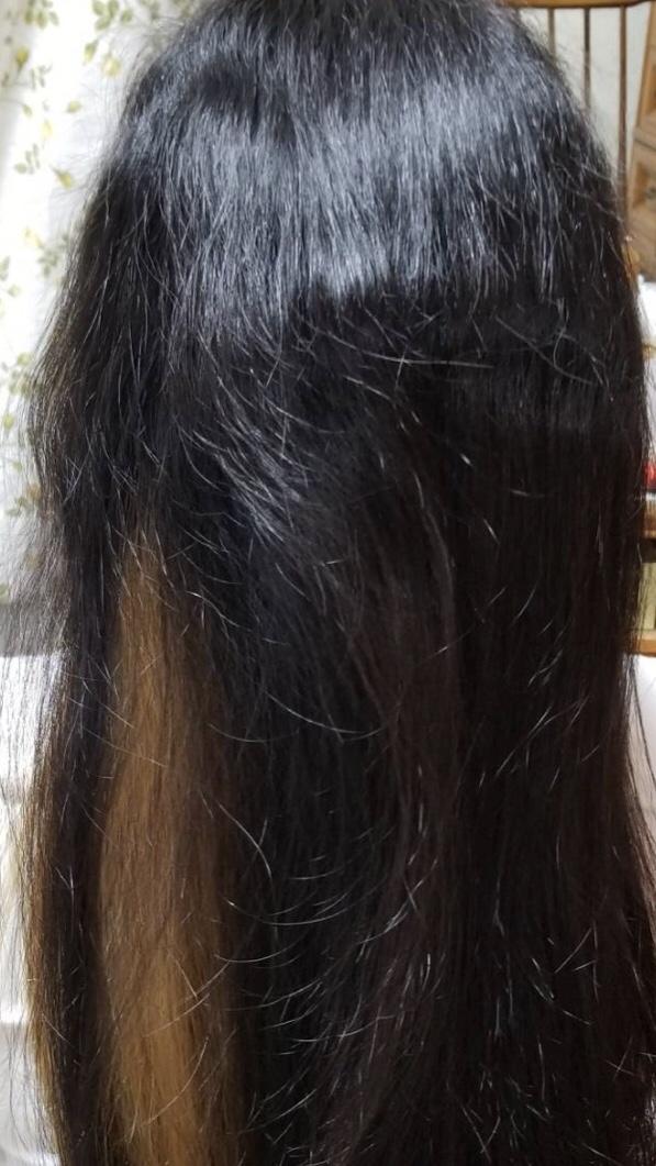 ブリーチ+縮毛矯正